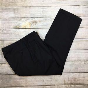 Ermenegildo zegna wool Italian black pants trouser